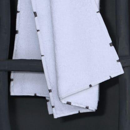 memba grey bath linen