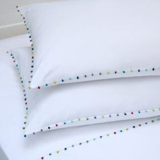 AYA luxury bed linen with trimmings embroidery