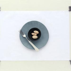 linge de table tulum grey