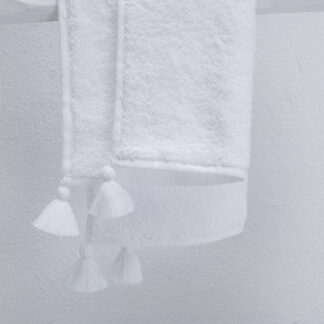 TULUM white bath linen