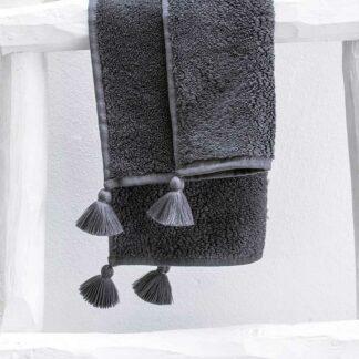 Linge de bain gris TULUM
