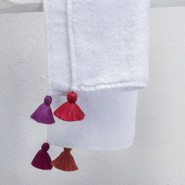 Linge de bain pompons TULUM CRUSH