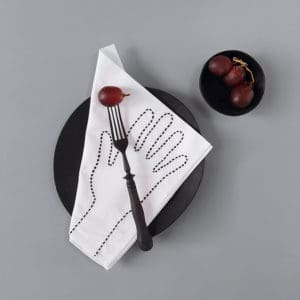 table linen otis black