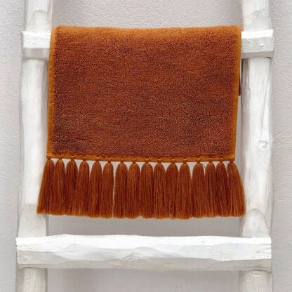 terry towel with long fringes valerie barkowski