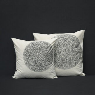 cushion cover maru noir
